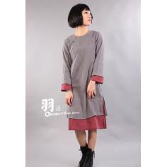 Серое платье (М111 Инь Чжэнь)