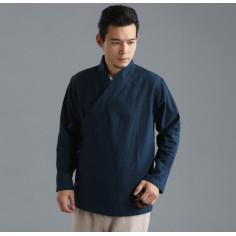 Туманно-синяя рубашка (М112 Бин Дао)