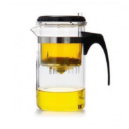 Стеклянная кружка для заваривания чая