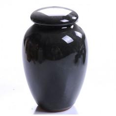 Черно-зеленая чайница «колотый лед»