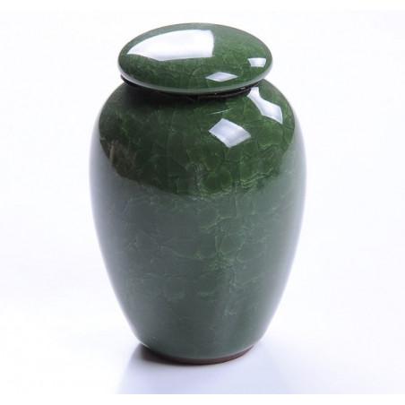 Темно-зеленая чайница «колотый лед»