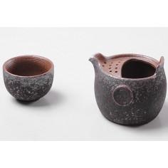 """Набор для путешествий №1, """"ржавая"""" керамика"""