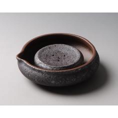 """Сосуд, питающий чайник, """"ржавая"""" керамика"""