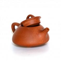 Рыжий чайник из исинской глины «Каменный черпак»