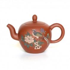 Чайник из исинской глины «Плечи красавицы»