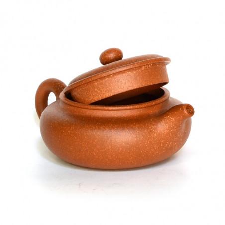 Рыжий чайник из исинской глины «Под старину»