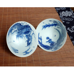 «Дракон» и «Феникс», чаша из цзиндэчженьского фарфора