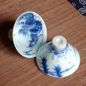 «Дракон» и «Феникс», чаша из цзиндэчженьского фарфора_5111