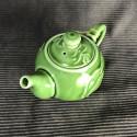 Зелёный круглый чайник «Облака»_5259