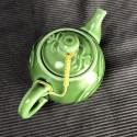 Зелёный круглый чайник «Облака»_5261