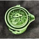 Зелёный чайник- гайвань «Сегмент бамбука»_5262