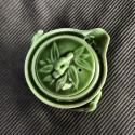 Зелёный чайник- гайвань «Сегмент бамбука»_5263