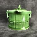 Зелёный чайник- гайвань «Сегмент бамбука»_5265