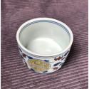 Чаша из цзиндэчженьского фарфора с прямыми стенками «Символ долголетия» (разноцветная роспись)_5285