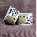 Чаша из цзиндэчженьского фарфора с прямыми стенками «Символ долголетия» (разноцветная роспись)_5289