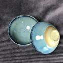 Чаша с эффектарной глазурью «Поток»_5318
