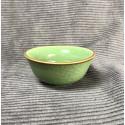 Маленькая чаша из селадона болотно-зеленого цвета_5326