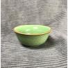 Маленькая чаша из селадона болотно-зеленого цвета
