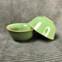 Маленькая чаша из селадона болотно-зеленого цвета_5327