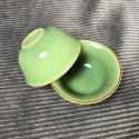 Маленькая чаша из селадона болотно-зеленого цвета_5328