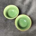 Маленькая чаша из селадона болотно-зеленого цвета_5329