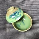 Чаша с частичным покрытием селадоном «Пейзаж»_5340