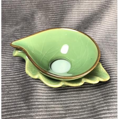 Селадоновое ситечко болотно-зеленого цвета