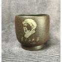 Чаша из исинской глины «Заветы Мао» (1)_5412
