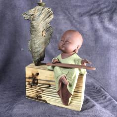 Музыкант, средняя интерьерная статуэтка