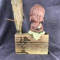 Будда, средняя интерьерная статуэтка_5454