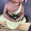 Будда, средняя интерьерная статуэтка_5457
