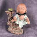 Монах с чётками, средняя интерьерная статуэтка_5467