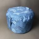 Голубая подушка для медитаций_5480