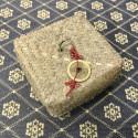 Новогодний набор в плетёной корзинке_6340