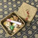 Новогодний набор в плетёной корзинке_6341