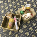 Новогодний набор в плетёной корзинке_6342