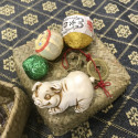 Новогодний набор в плетёной корзинке_6343