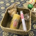 Новогодний набор в плетёной корзинке_6344