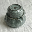 Чайник-гайвань из селадона с чашей-крышкой в подарочной коробке_7200