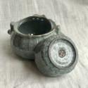 Чайник-гайвань из селадона с чашей-крышкой в подарочной коробке_7202