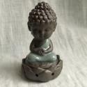 """Курительница благовонная """"Созерцание Будды"""" с серым покрытием_7231"""