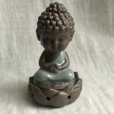 """Курительница благовонная """"Созерцание Будды"""" с серым покрытием"""