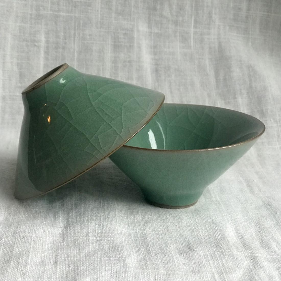 Чаша летняя из зеленого гэяо