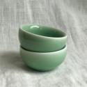 Маленькая чаша из дияо цвета зелёной сливы_7294