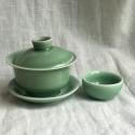 Маленькая чаша из дияо цвета зелёной сливы_7295