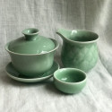 Маленькая чаша из дияо цвета зелёной сливы_7298