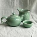 Маленькая чаша из дияо цвета зелёной сливы_7300