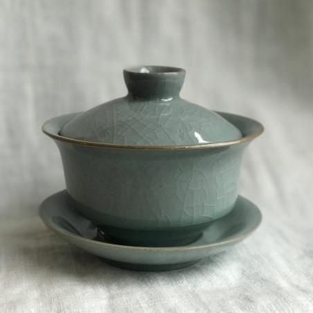 Гайвань из гэяо голубого цвета
