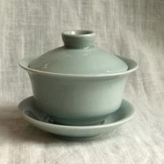 Гайвань из дияо голубого цвета