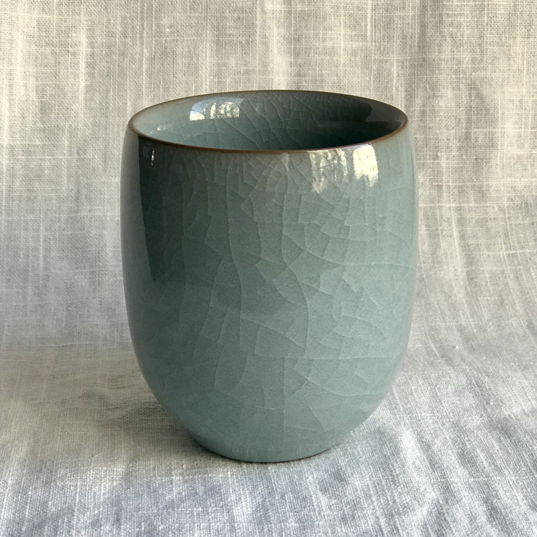 Стакан из голубого гэяо